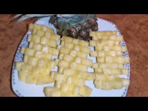 ananasi-soyub,-doĞramaq