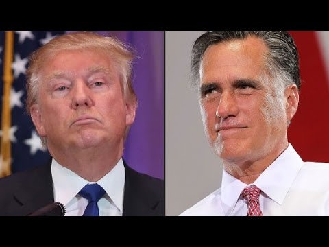 Mitt Romney speaks out against Donald Trump (full speech)