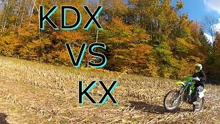 KDX Vs KX