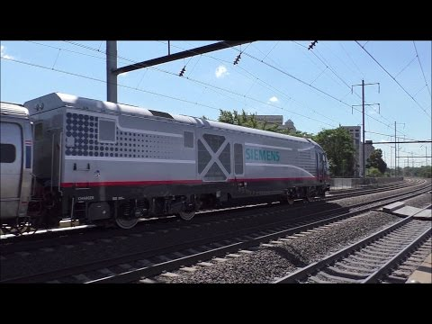 Amtrak & NJ Transit HD 60fps: Early Afternoon Action @ Broad Street - Elizabeth (9/13/16)