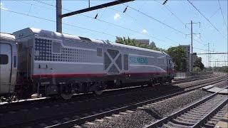 Amtrak & NJ Transit HD 60fps: Early Afternoon Action @ Broad Street - Elizabeth (9/13/16)