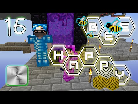 Minecraft Mod Pack Bee Happy - Episode 16 - The Nether