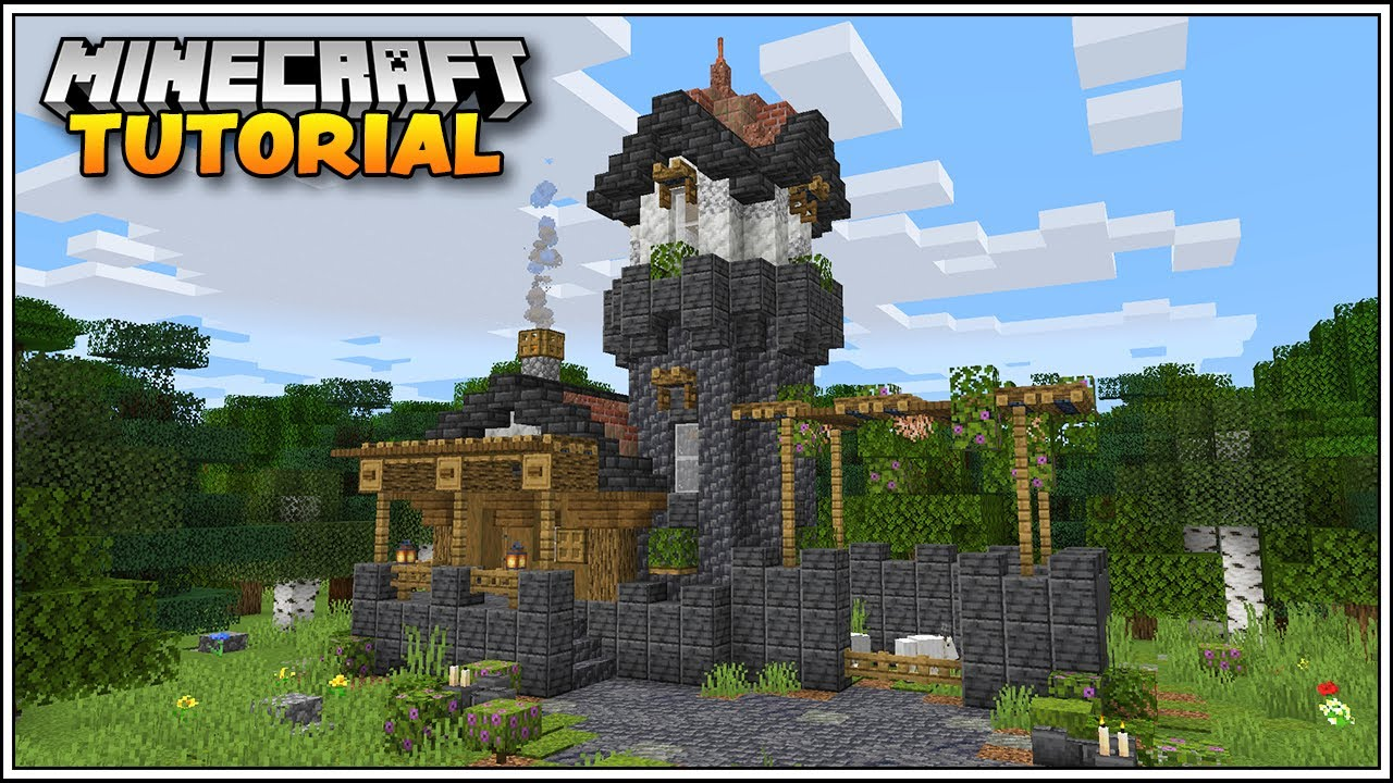 Minecraft 1.17 Tutorial: How to Build a House in Minecraft 1.17!!!