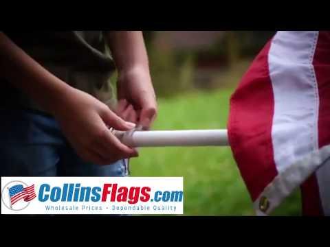 Rotating Pvc Flagpole And Instructions Doovi