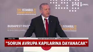 Cumhurbaşkanı Erdoğan Mülteciler Hakkında Konuştu