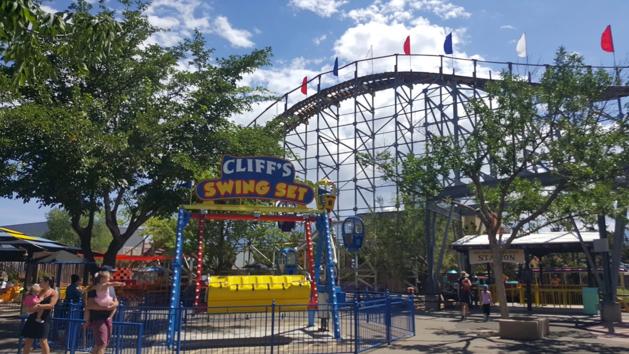 Cliff's Amusement Park review (Albuquerque NM) - YouTube