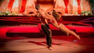 Amelle Berrabah's Trapeze performance  to 'Stay With Me' - Tumble: Grand Final - BBC One