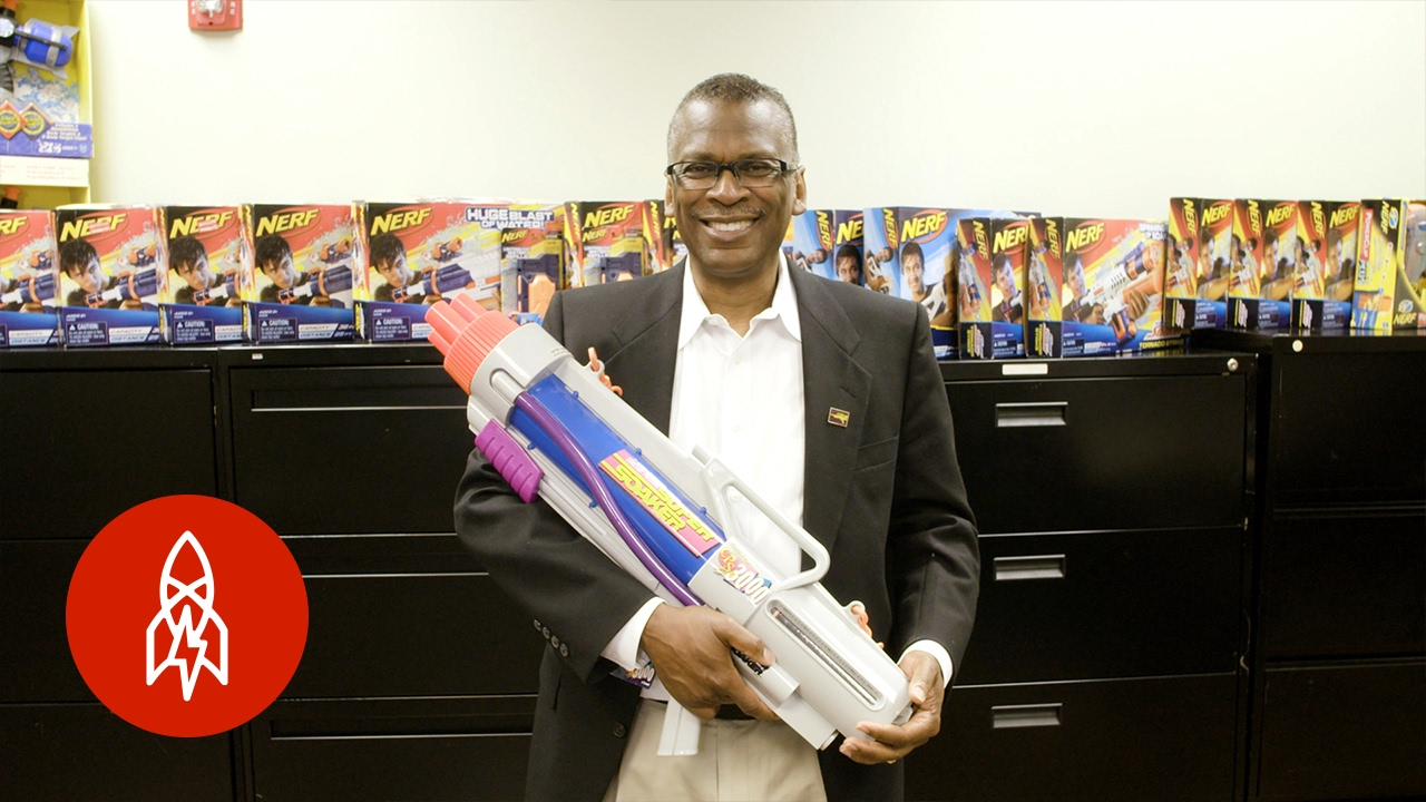 The NASA Scientist Who Invented the Super Soaker - YouTube