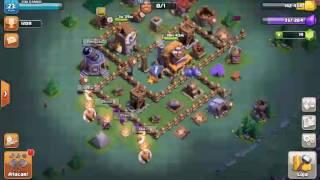(Clash of clans) casa do construtor indo pra nv 5 :)