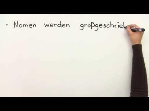 Groß- und Kleinschreibung | Deutsch | Grundschule