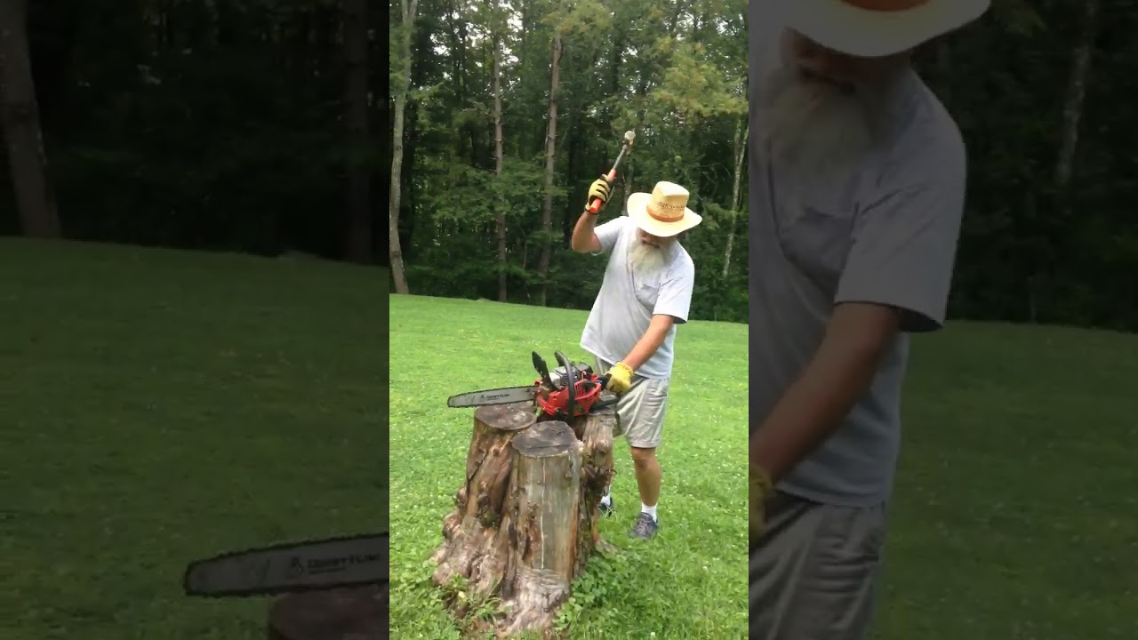 How to fix a broken chainsaw - 984909