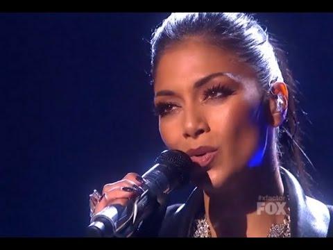 Nicole Scherzinger - Pretty - The X Factor USA   Semi-Final Results Show