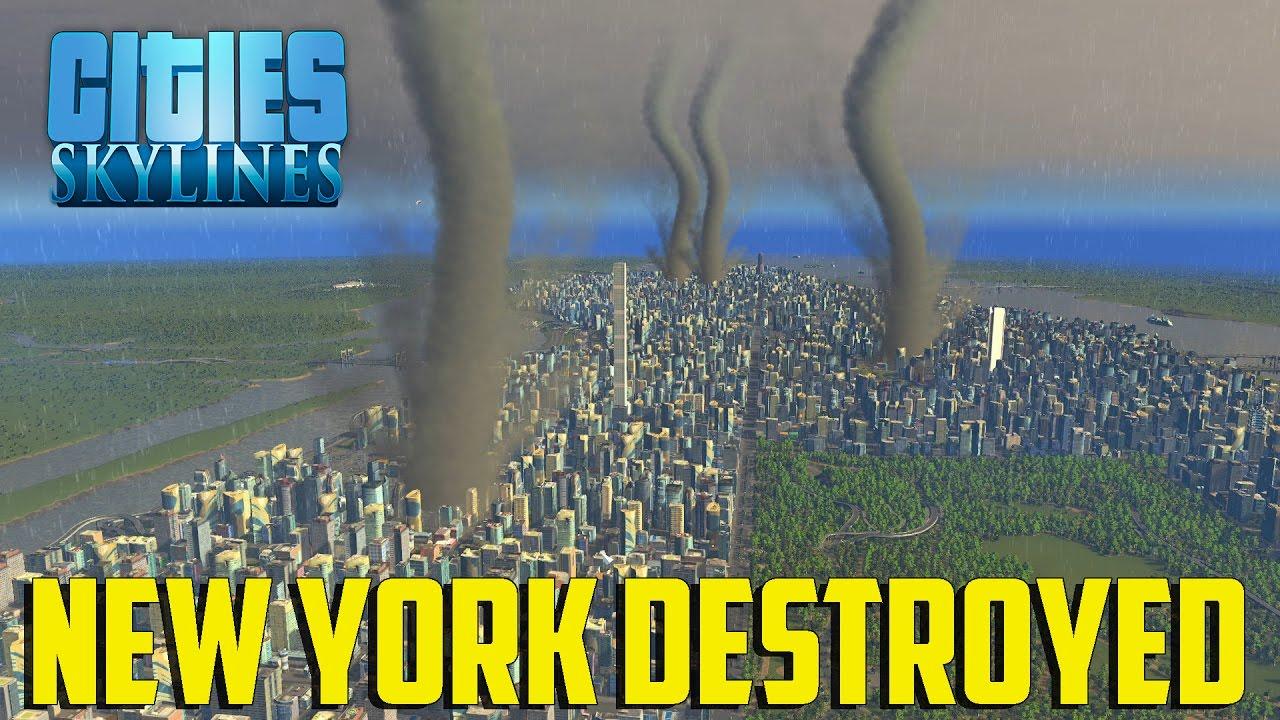 Cities Skylines New York City