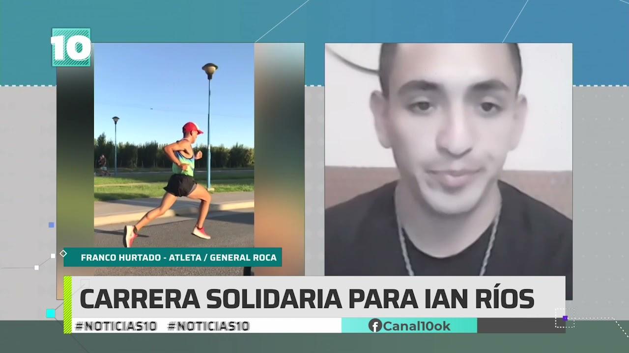 #Noticias10   Roca: corrida solidaria para Ian Ríos