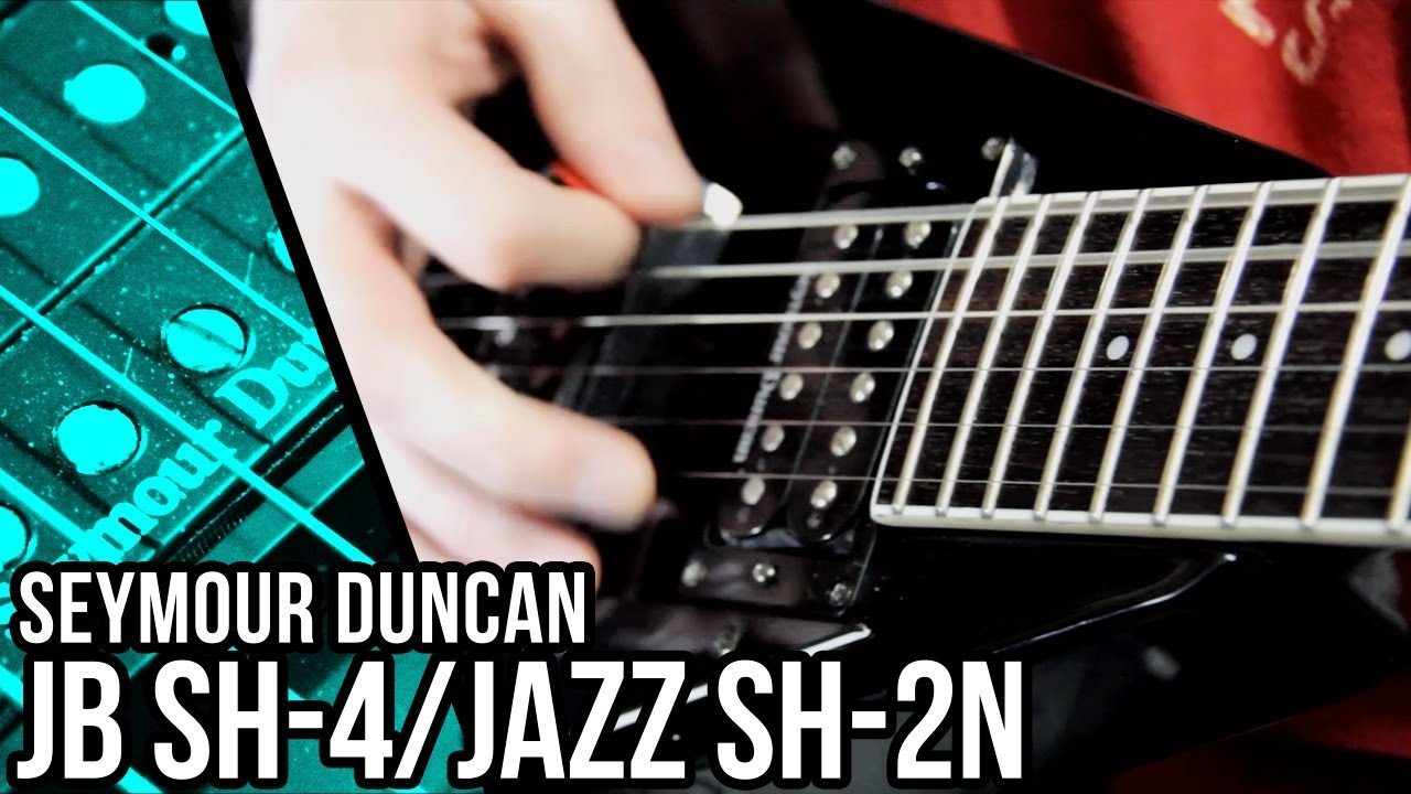 Seymour Duncan JB and Jazz Pickups - Metal | Pete Cottrell - YouTube