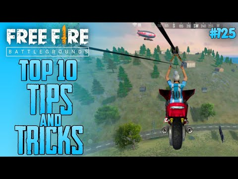 Top 10 New Tricks In Free Fire | Tips and Tricks In Garena Free Fire #125
