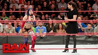 Alexa Bliss will defend her title in the first Women's Elimination Chamber Match: Raw, Jan. 29, 2018