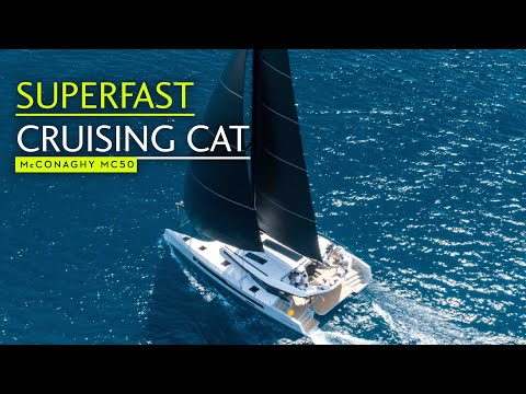 McConaghy MC50 CAT | First Look | Yachting World