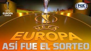 Sorteo de 16vos de final de la UEFA Europa League