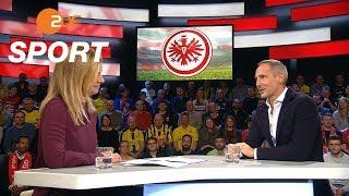 Adi Hütter: Tabellensituation ist nur Momentaufnahme | das aktuelle sportstudio - ZDF