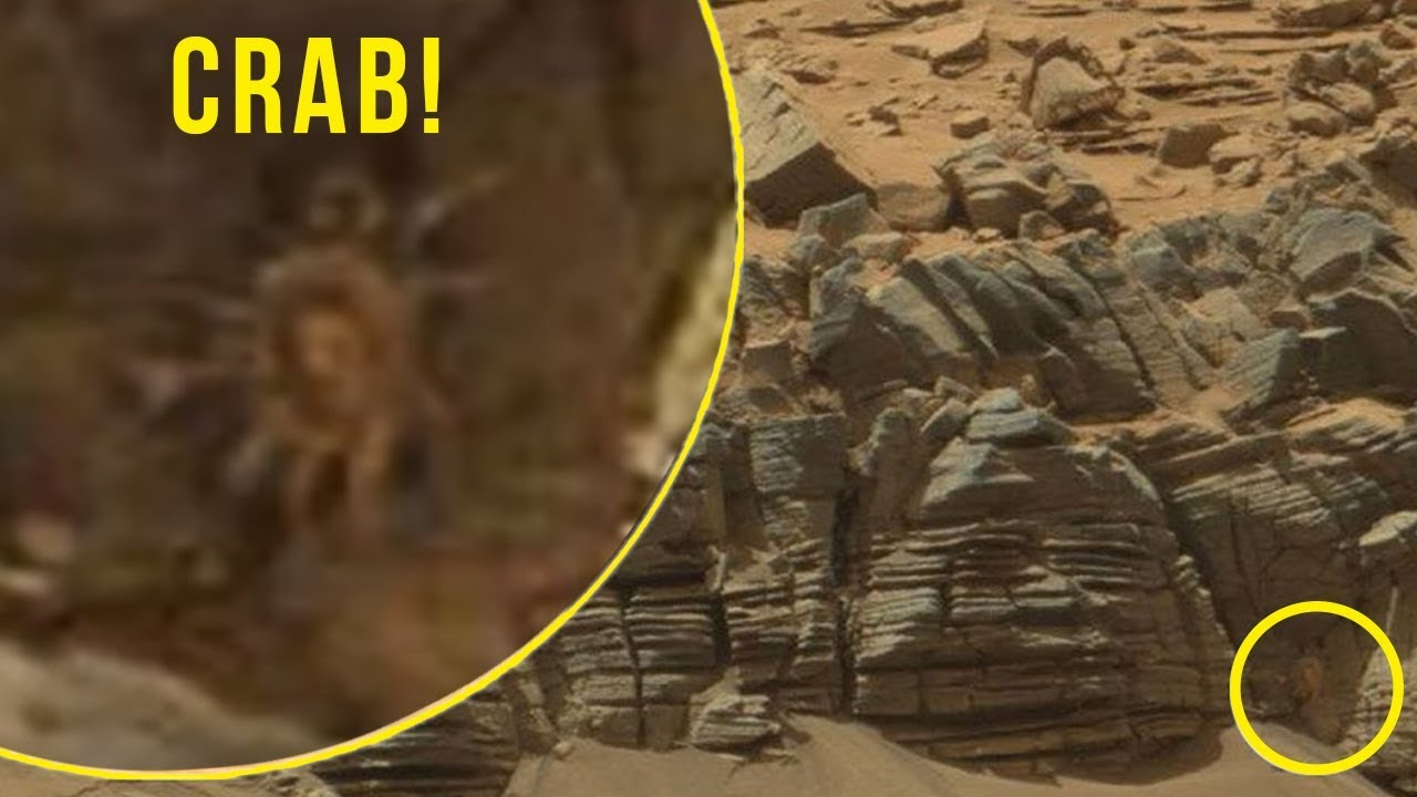 5 strangest mysterious things caught by nasa on mars youtube