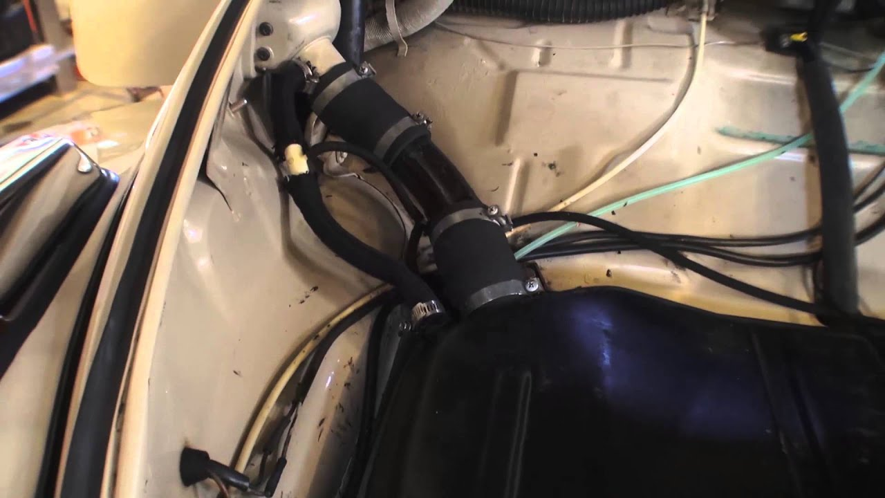 classic vw bugs how to stop fuel odor gas fumes smell in your beetle [ 1280 x 720 Pixel ]