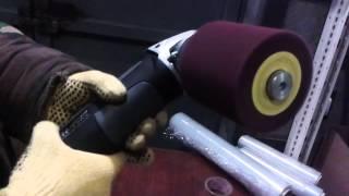 видео Щеточные шлифмашины