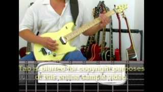 Unchained Van Halen Guitar Lesson by Mark John Sternal Phrase By Phrase Method