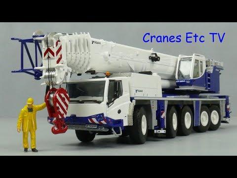 WSI Tadano ATF 220G-5 (Euro 4) Mobile Crane by Cranes Etc TV