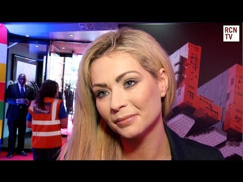 Nicola McLean Interview The Lego Movie UK Premiere