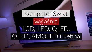 KŚ wyjaśnia: czym są ekrany LCD, LED, QLED, OLED, AMOLED i Retina w telewizorach i smartfonach