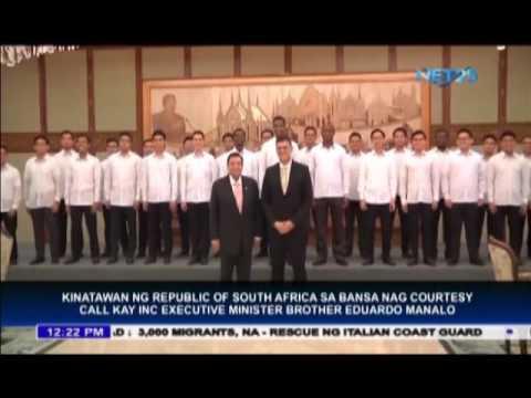 South African Ambassador visits Iglesia Ni Cristo Central Office