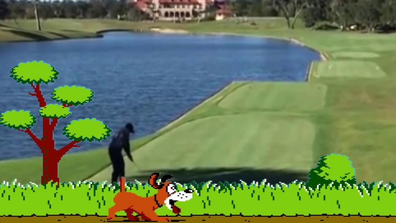 Duck Hunt Golfer Hit's a Duck - YouTube Cartoon Duck On Golf Course on gopher on golf course, cow on golf course, snake on golf course, rattlesnake on golf course, lion on golf course, deer on golf course, baboon on golf course, kangaroo on golf course, dog on golf course, sheep on golf course,