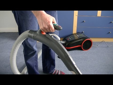 Hoover Silent Energy Bagged Vacuum Cleaner Full Demonstration & Review