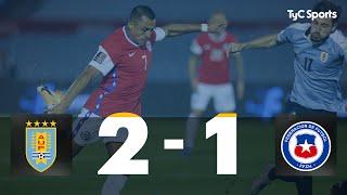 Uruguay 2 vs. 1 Chile | Eliminatorias a Qatar 2022 - Fecha 1