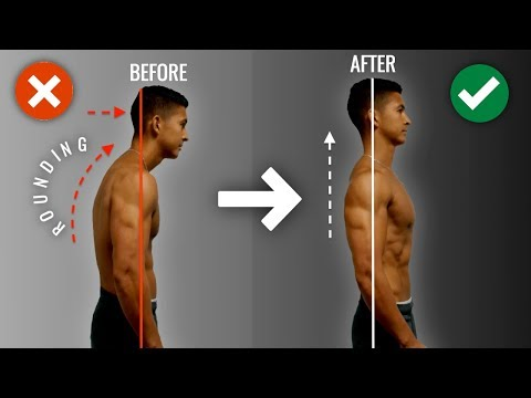 How To Fix Rounded Shoulders FAST (10 Minute Science-Based Corrective Routine)