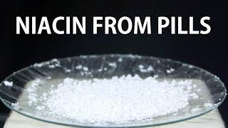 Extracting Niacin from Pills (Vitamin B3/Niacin Pills)
