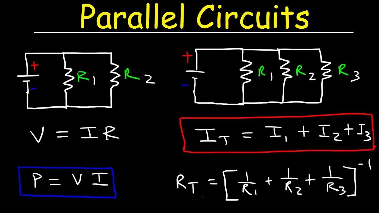 Three Resistor Parallel Circuit