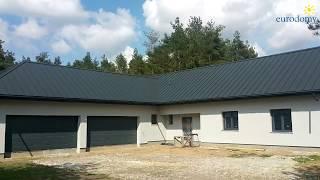Dom prefabrykowany zbudowany w systemie PRAEFA® w miejscowości Racibory, gm. Tarczyn
