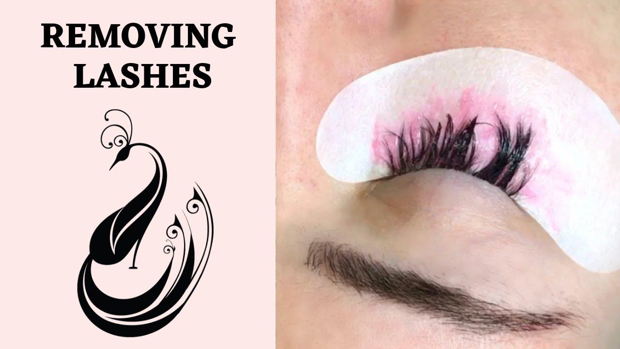 Eyelash Extension Removal Technique | Yegi Beauty Cream Adhesive Remover