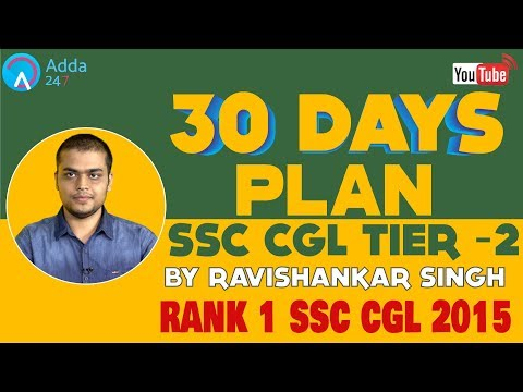 SSC CGL Tier II English & Quant Strategy By SSC Toppers