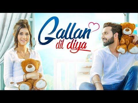 LOVIE VIRK - Gallan Dil Diya (Full Video) Desi Routz | Maninder Kailey | Latest Punjabi Sad Song