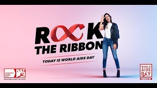 """Behind """"Rock The Ribbon"""" from The National AIDS Trust and St Luke"""