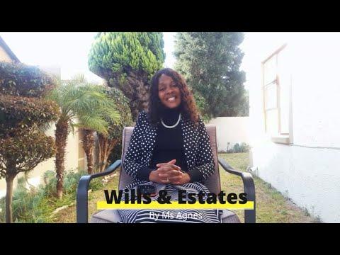 Wills and Estate planning information