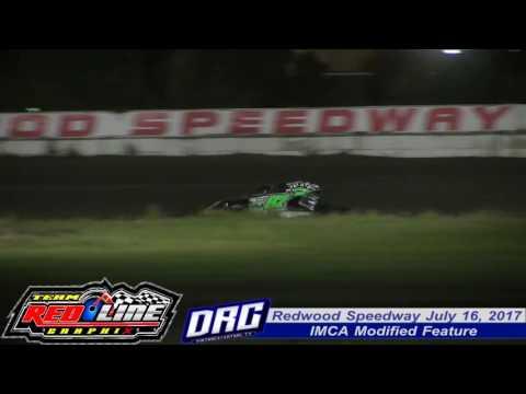 Redwood Speedway 7/16/17 IMCA Modified Finish