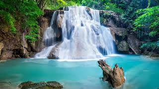 copyrighted Beautiful Background Green Waterfall Download Ultra HD