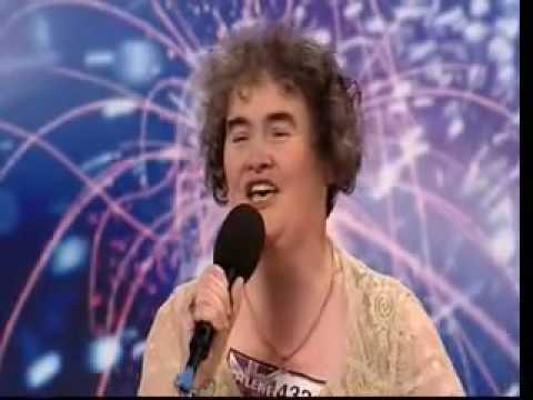 Susan Boyle Audition ~ Britains Got Talent 2009flv