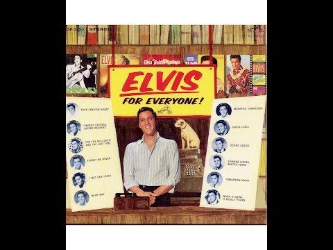 "CD22: ELVIS COLLECTION ALBUM ""ELVIS FOR EVERYONE"" (CD 22 sur 57 / présentation JMD OFF)."