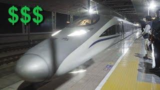 300km/h cu trenul. Cat costa? **China