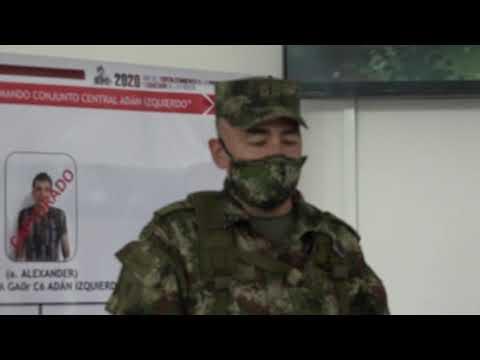 Capturado disidente de las Farc y presunto integrante de un grupo residual que delinquía en Tolima